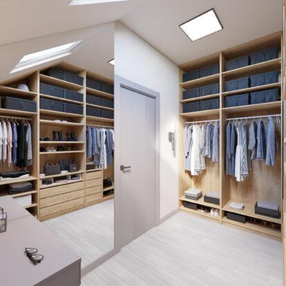 Дизайн дома Запорожье ремонт гардеробной комнаты
