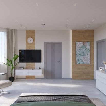 Дизайн дома Запорожье спальня