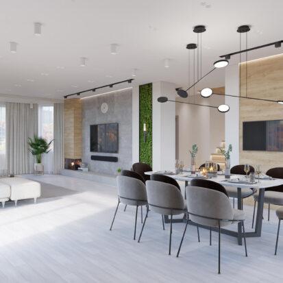 Дизайн дома Запорожье столовая
