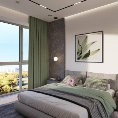 Дизайн интерьера спальни Днепр цена