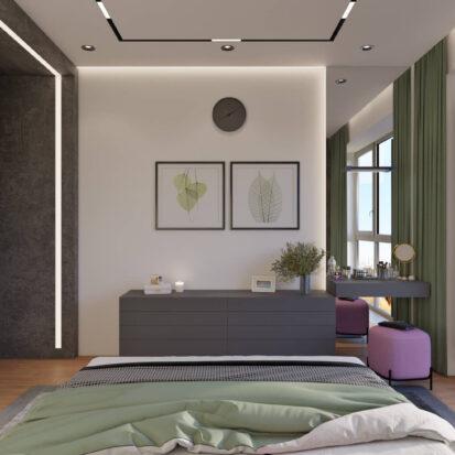 Дизайн интерьера спальни Днепр