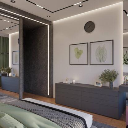 Дизайн и интерьер спальни Днепр