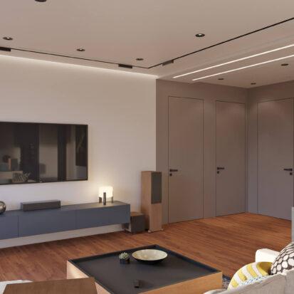 Дизайн квартиры Днепр гостиная цена