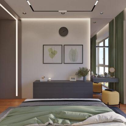 Дизайн квартиры Днепр интерьер спальни