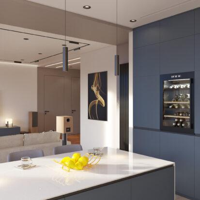 Дизайн квартиры Днепр кухня цена