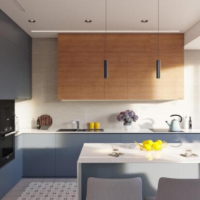 Дизайн квартиры Днепр кухня