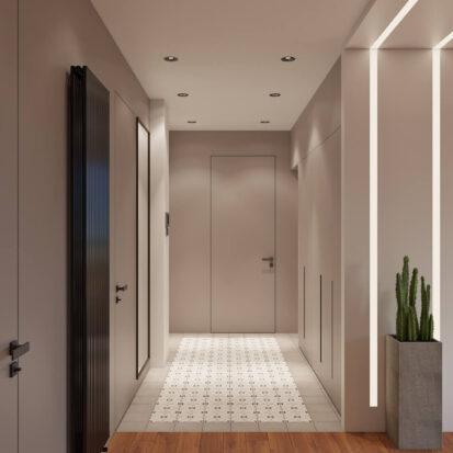 Дизайн квартиры Днепр прихожая