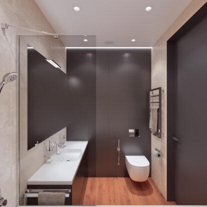 Дизайн квартиры Днепр проект ванной