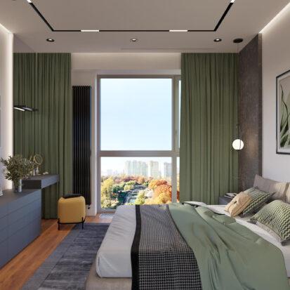 Дизайн квартиры Днепр ремонт спальни