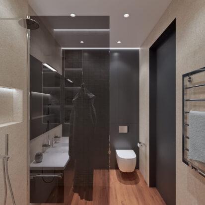 Дизайн квартиры Днепр сан узел цена
