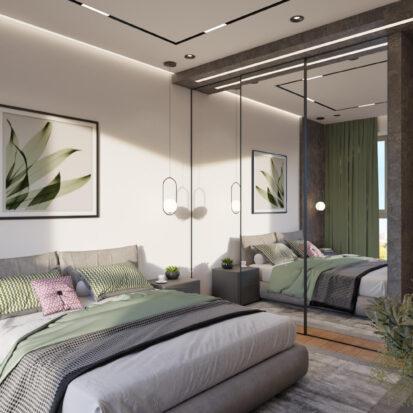Дизайн проект спальни днепр