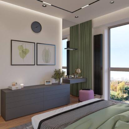 Дизайн спальни Днепр цена
