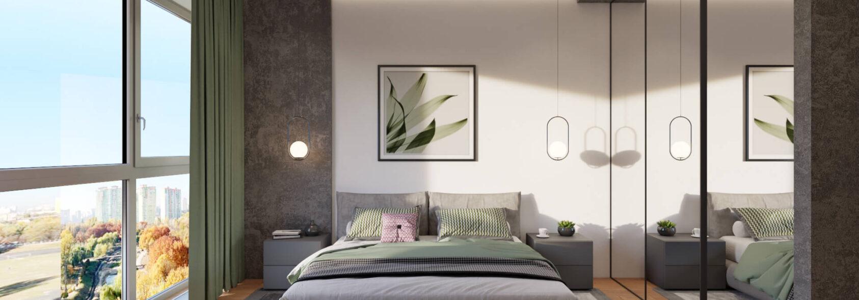 Дизайн спальни Днепр