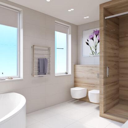 Элитный дизайн дома Запорожье ванная комната