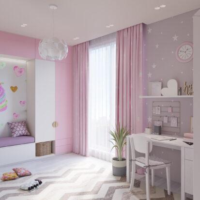 Элитный дизайн дома Запорожье детская