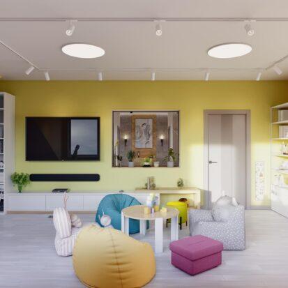 Элитный дизайн дома Запорожье игровая комната