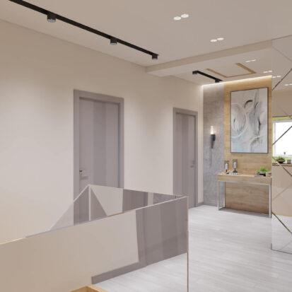 Элитный дизайн дома Запорожье лестница