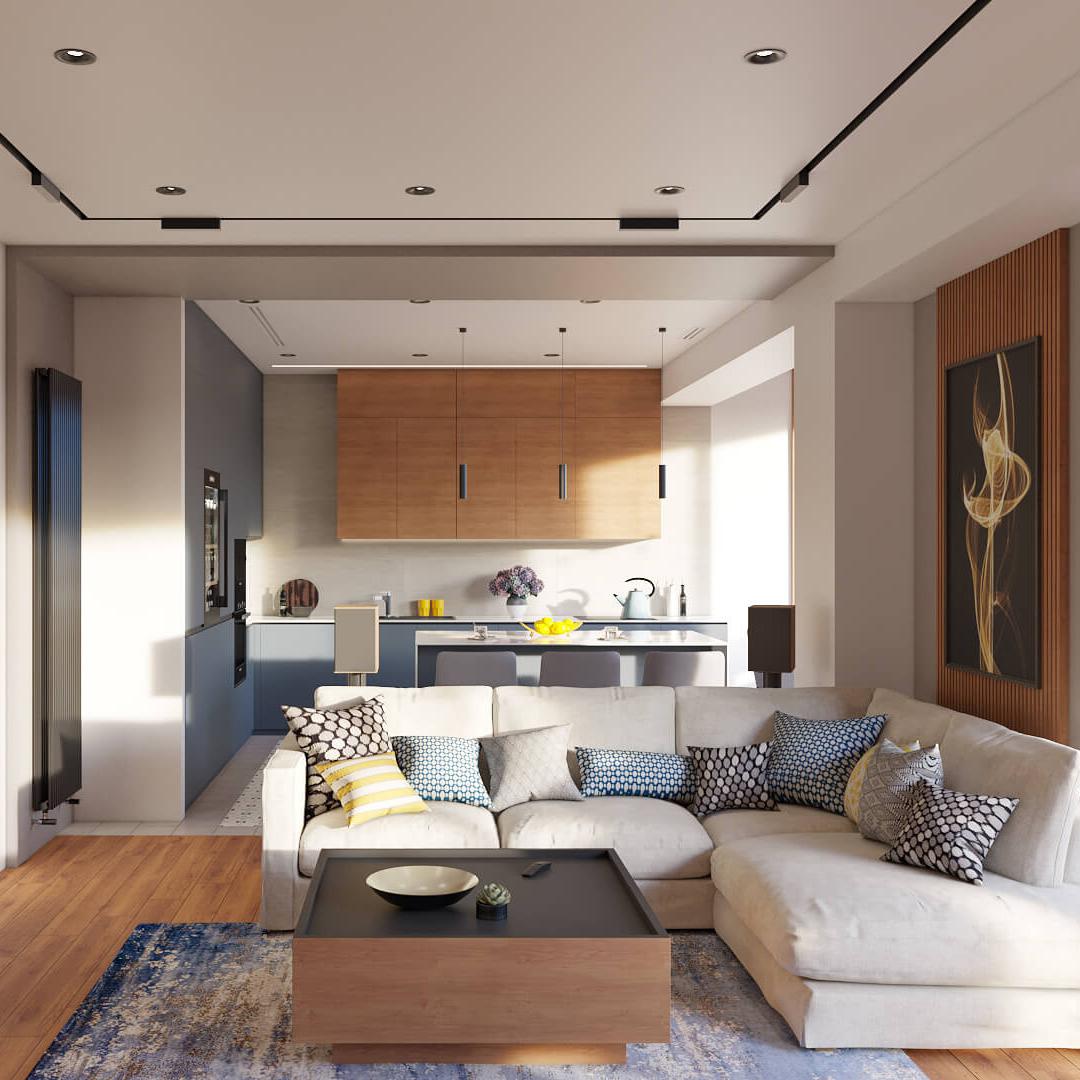 Дизайн квартиры Днепр, Dofamine