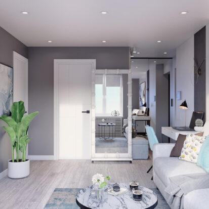 Дизайнерский ремонт 2х комнатной квартиры Энергодар
