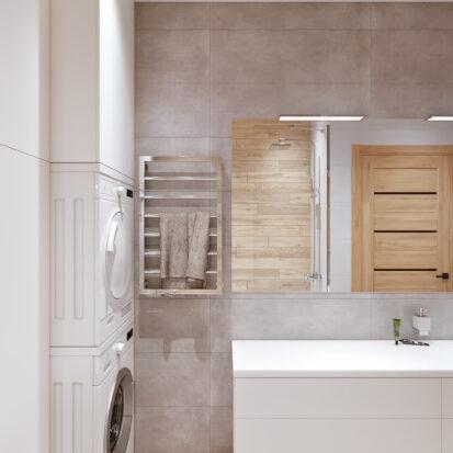 Дизайнер интерьера Ванная комната