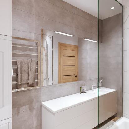 Дизайнер интерьера проект ванной