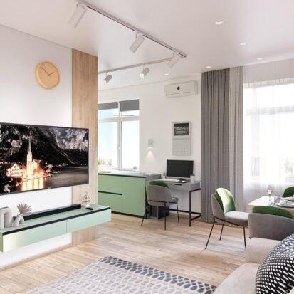 Дизайнер интерьера проект квартиры