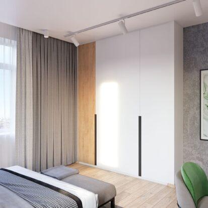 Дизайнер интерьера проект спальни