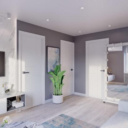 Дизайн - проект 2х комнатной квартиры Энергодар