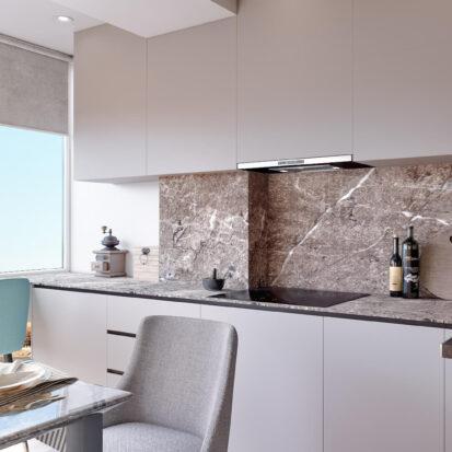 Дизайн 2х комнатной квартиры Энергодар кухня