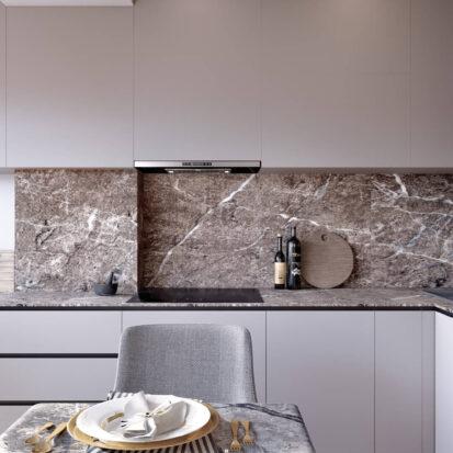 Дизайн 2х комнатной квартиры Энергодар проект кухни
