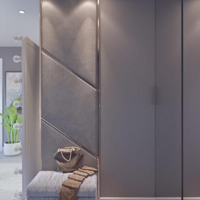 Дизайн 2х комнатной квартиры Энергодар проект прихожей