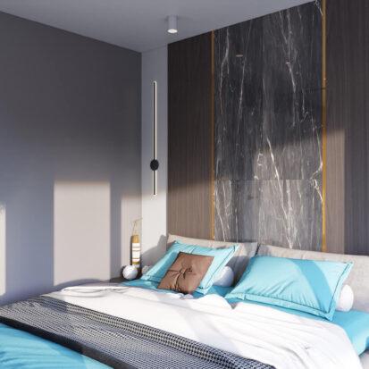 Дизайн 2х комнатной квартиры Энергодар ремонт спальни