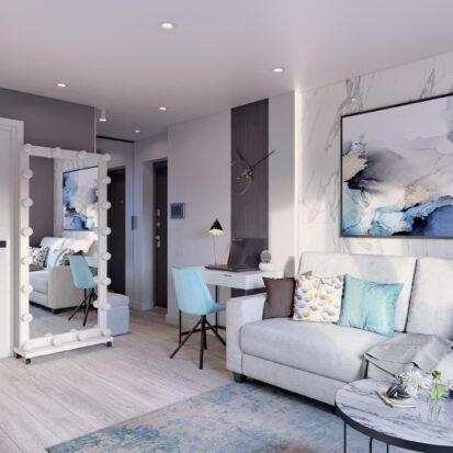 Дизайн 2х комнатной квартиры Энергодар цена
