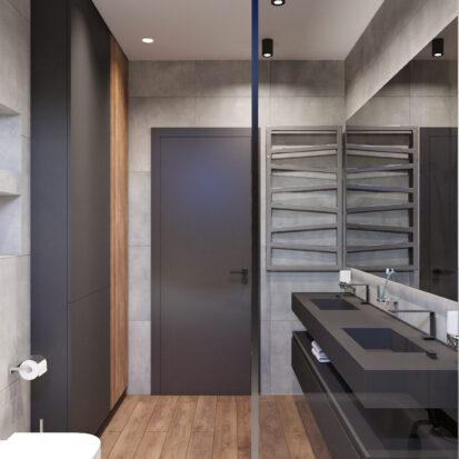 Дизайн дома Балабино ванная заказать