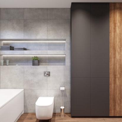 Дизайн дома Балабино ванная