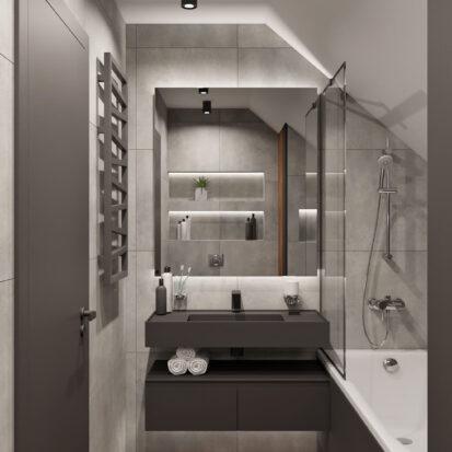 Дизайн дома Балабино дизайн сан узла