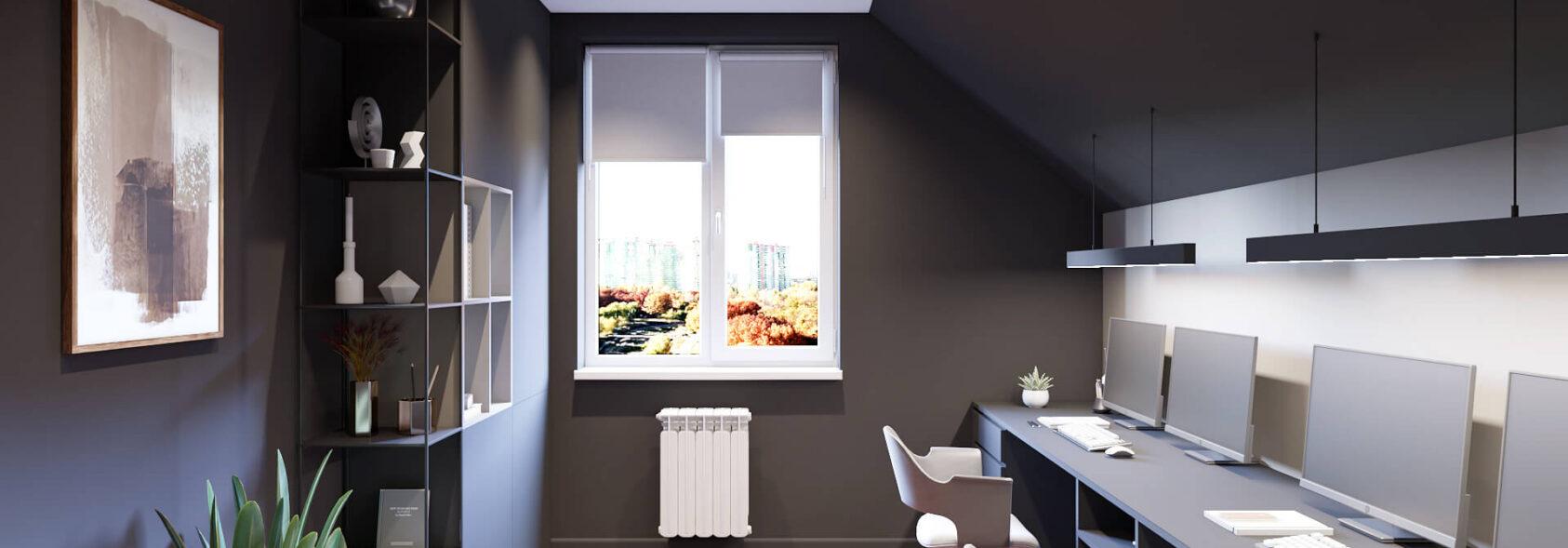 Дизайн дома Балабино домашний кабинет