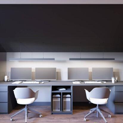 Дизайн дома Балабино кабинет