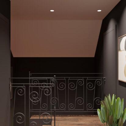 Дизайн дома Балабино коридор заказать