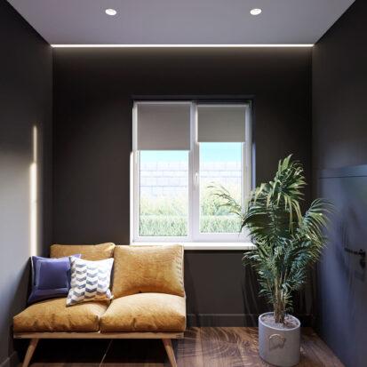 Дизайн дома Балабино коридор 1го этажа