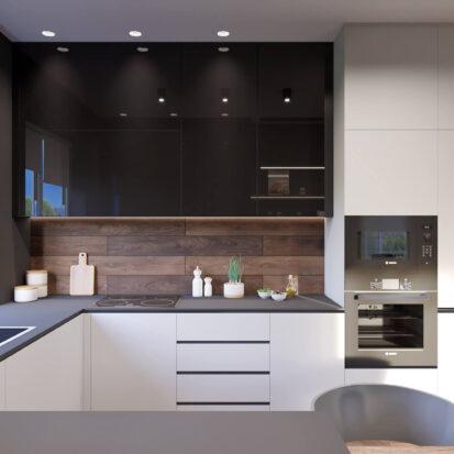 Дизайн дома Балабино кухня