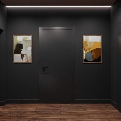 Дизайн дома Балабино прихожая проект