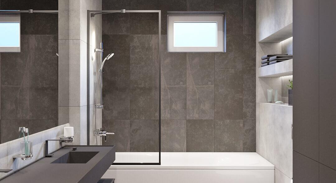Дизайн дома Балабино проект ванной