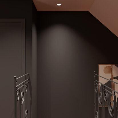 Дизайн дома Балабино проект лестницы