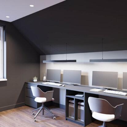 Дизайн дома Балабино рабочий кабинет