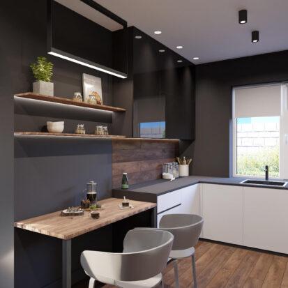 Дизайн дома Балабино ремонт кухни