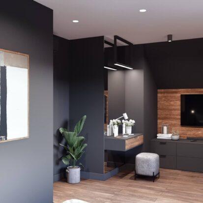 Дизайн дома Балабино спальня цена