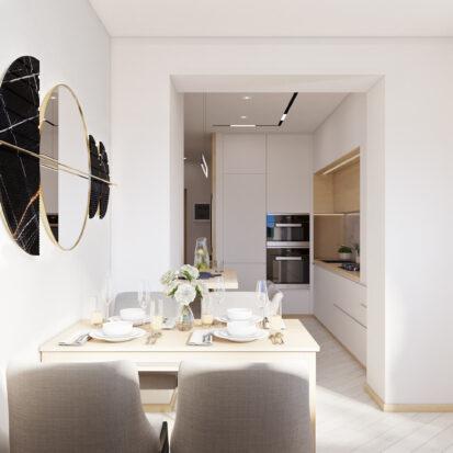 Дизайн квартиры для сдачи в аренду балкон