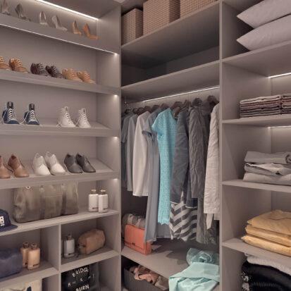 Дизайн квартиры для сдачи в аренду гардеробная комната