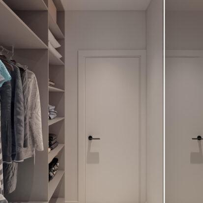 Дизайн квартиры для сдачи в аренду гардероб